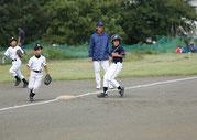 コウタ毎回走る!盗塁3つに相手のパスボールで1塁から一気に3塁へ!!