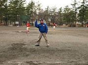 1塁の塁審
