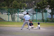 盗塁を阻止