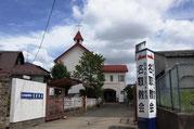 修復前の名取教会