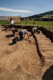 Römische Ausgrabung Salzburg - Aktiv mitforschen