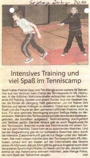 Segeberger Zeitung, Februar 2010