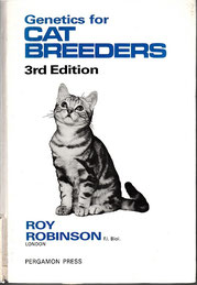 Genetics for cat breeders, Roy Robinson