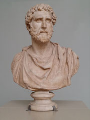 Antoninus Pius, Büste im National Museum of Scotland