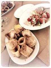 griechische Calamari