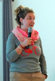 Fanny Prache chargée de communication d'Agribiovar