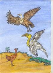 Illustration de Y. Diarra, tirée du site conte-moi.net (DR)
