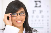 eye exam, vision test