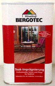 Bergotec Teak-Imprägnierung -professioneller Schutz und Pflege