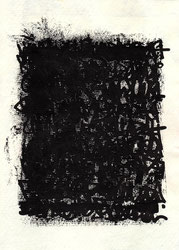 Harpillard abstrait encre