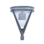 Luminario modelo Europa equipado con LEDS o HID