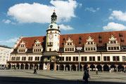 Altes Rathaus Leipzig mit Turm