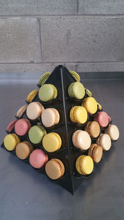 Dinner Party Macaron Tower