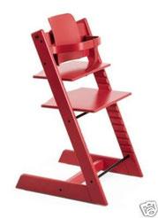 La chaise haute de Stokke