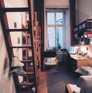 Una camera per studenti del Maximilianeum