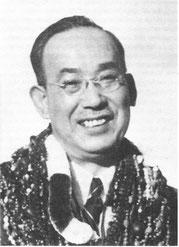 Foto van Chujiro Hayashi Sensei op bezoek bij mevrouw Takata Sensei op Hawaii