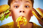 obesità infantile, cause e alimentazione