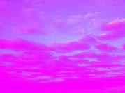 Rosa und Pinkfarbene Wolken