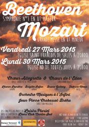 Affiche concert 2015