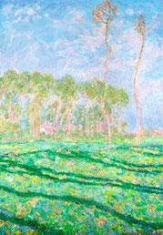 CLAUDE MONET - Primavera a Giverny 1894