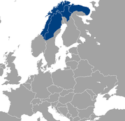 ラップランド地図