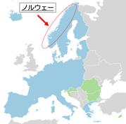 シェンゲン協定加盟国地図