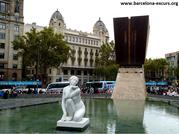 Уличная скульптура Барселоны (продолжение)