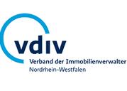 Webseite des Verbandes der Immovilienverwalter NRW