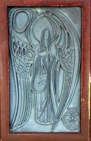 St David's Church - door detail
