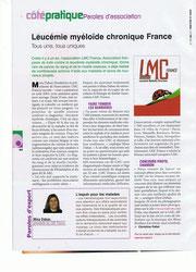 LMC LMC France CML leucemie myeloide chronique lmc france leucémie myéloïde chronique Bien-être et santé