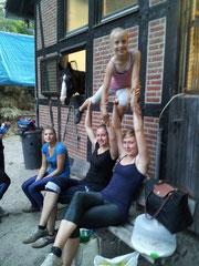 Training 20.08 und 17.10.2012
