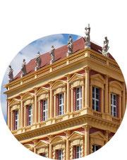 Tour durch Potsdam - Hiller-Brandtsche Häuser