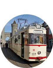 Historische Straßenbahn Potsdam