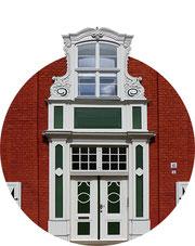 Portal im Holländischen Viertel in Potsdam