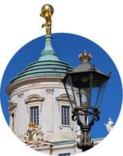 Atlas auf dem Alten Rathaus in Potsdam