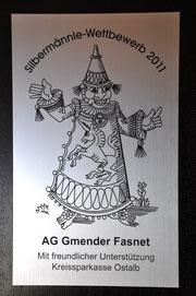 1.Platz Maskengruppe in Schwäbisch Gmünd / D