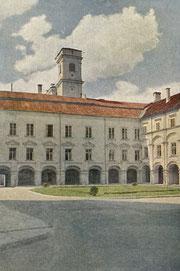 Centriniai rūmai. Foto F. Zanievskio / Central campus. Photo F.Zanievskis