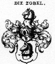 Wappen der Herren Zobel von Giebelstadt