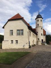 Burg Brome als Schauplatz meiner Lesung