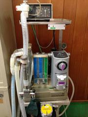 麻酔器、人工呼吸器
