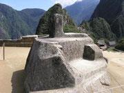 Machu Picchu - Intihutana; Der Ort an dem die Sonne angebunden wird