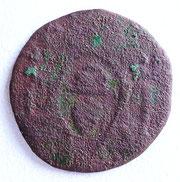 Heller oder Pfennig aus dem 18. Jhdt. aus Augsburg, gefunden von Urs Baumberger