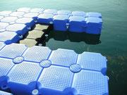 Plataformas flotantes Modulos flotantes para pantalanes Plataformas modulares flotantes