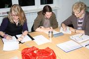 Kreative Schreibstunde 2011