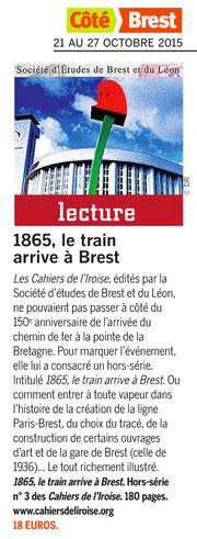 Côté Brest, du 21 au 27 octobre 2015
