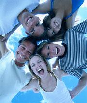 jovenes, juventud, fiesta,playa