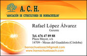 """""""A.C.H."""" ASOCIACIÓN DE CITRICULTORES DE HORNACHUELOS. - Haz """"clic"""" en la imagen para ampliar."""