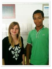 Schulsprecher SJ 13/14 - 1. René & 2. Sarah Speichinger
