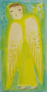 Angel   21×11cm   Aqyla on paper   2014