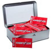 Scharfe Geschenkdose  - Scharfes Zeug - Chili im Portionspäckchen